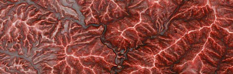 赤色立体地図を無料でダウンロードできる!